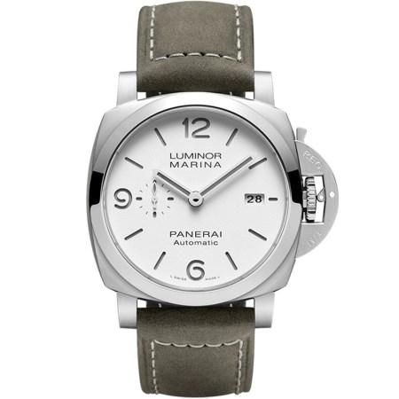 Replica Panerai Luminor Marina 44mm White Sandwich PAM01314 - Panerai Clone Watches