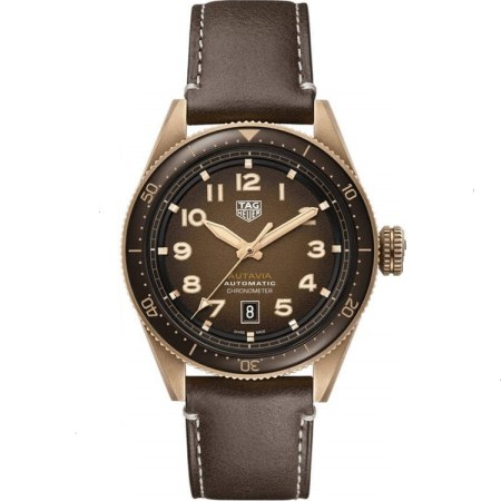 Replica TAG Heuer Autavia Calibre 5 Bronze Brown Dial WBE5191.FC8276 - TAG Heuer Clone Watches