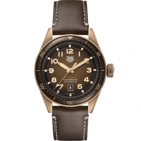 Replica TAG Heuer Autavia Calibre 5 Bronze Brown Dial WBE5191.FC8276 – TAG Heuer Clone Watches