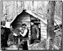 German printing office on the Western Front