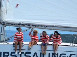 First Sailing Week 2015