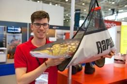 Chris Beldon, Markenmanager von Rapala