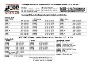 Zeitplan Fischereihafen-Rennen 2013, V2