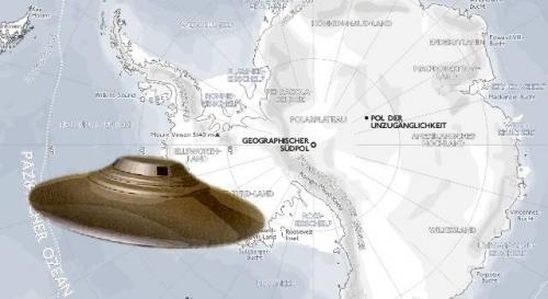 Die Antarktis: Standort einer Alien-Basis? (Bild: L.A. Fischinger / WikiCommons)