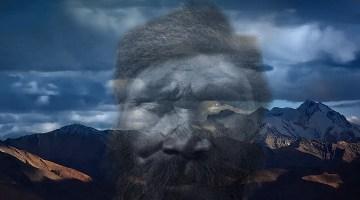 Sensationelle Entdeckungen : das Hochland von Tibet wurde schon vor bis zu 12.670 Jahre besiedelt! (Bild: Public Domain / Bearbeitung/Montage: L. A. Fischinger)