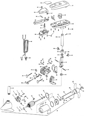 Minn Kota Riptide 27s Parts 1998 from FISH307