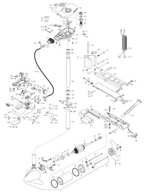 Minn Kota All Terrain 40 (42 inch) Parts  2003 from