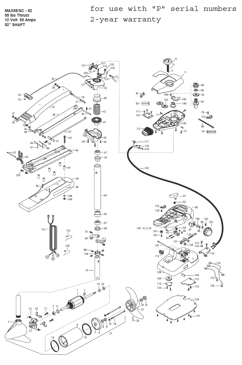 minn kota edge 70 replacement parts diagram minn kota