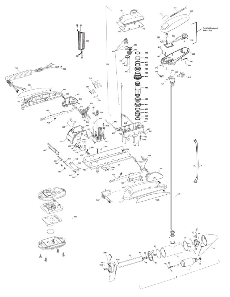 Minn Kota Terrova Parts Manual