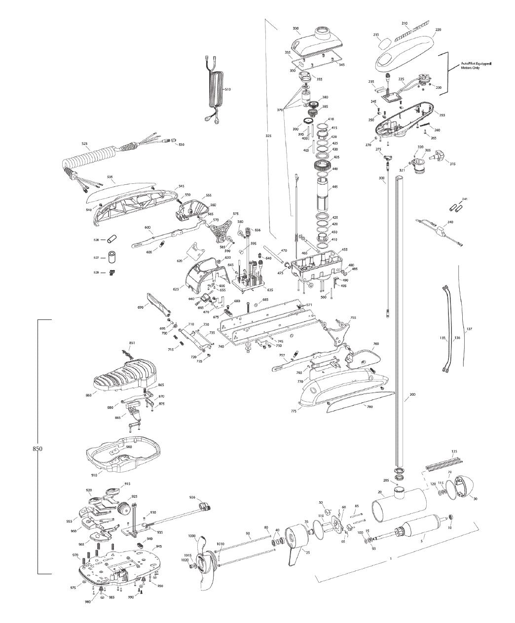 Minn Kota Vantage 80 Wiring Diagram