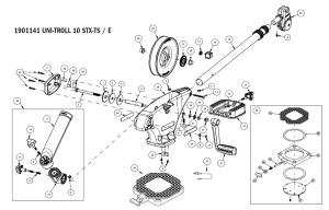 Order Cannon Metric UniTroll 10 STX TS manual downrigger