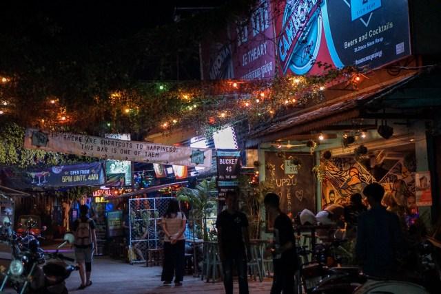 柬埔寨吴哥夜市
