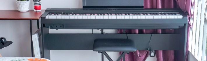 钢琴学习教过程 | 初级Grade 1结束!成人学习钢琴有什么难度?YAMAHA P125电子琴 开箱咯!