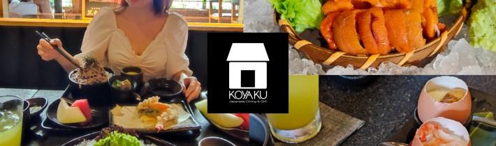 Koyaku Japanese Dining & Grill 小屋区:海胆、迷你茶碗蒸、烧烤系列