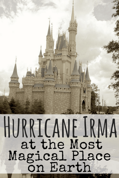 We are completely stuck at the most magical place on earth and a hurricane is headed straight for us. We trust in God, but that's where things get complicated. #disney