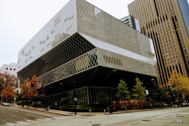 西雅圖旅遊–西雅圖景點–西雅圖公立圖書館