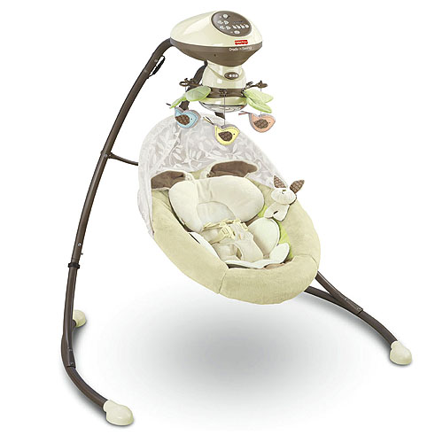 Review Fisher Price My Little Snugabunny Cradle N Swing
