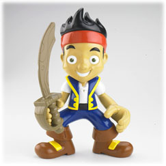 Jake and the Never Land Pirates Yo-Ho Let's Go! Jake Talking Figure