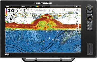 fishfinder color gps humminbird solix 15