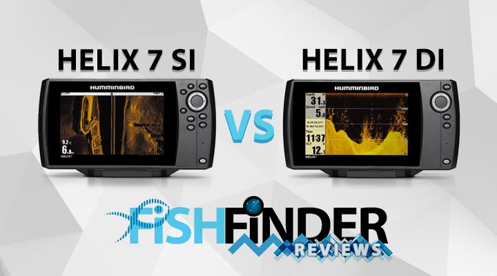 Humminbird Helix 7 Chirp SI vs DI Review