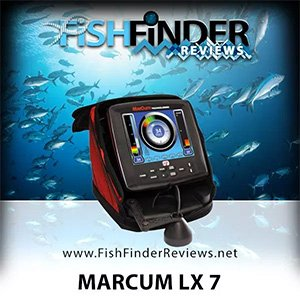 marcum lx 7 fish locator