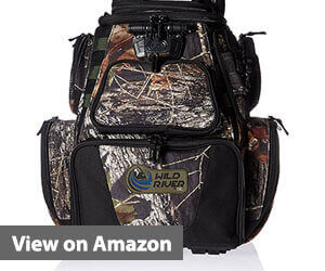 best fishing backpack, Wild River CLC 604 Lighted Camo Backpack