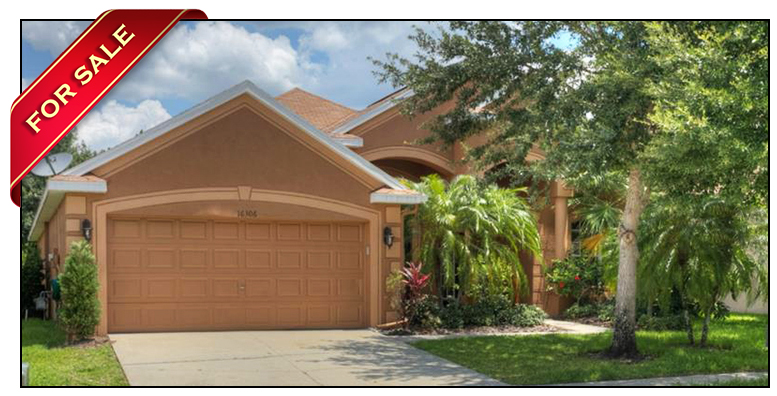 Beautiful Cardel Starling Floor Plan FishHawk Ranch Home For Sale at 16306 Bridgelawn Avenue Lithia Florida 33547