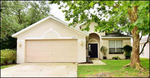 New FishHawk Real Estate Listing For Under $200,000 At 16933 Hawkridge Road Lithia FL 33547