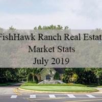 FishHawk Ranch Real Estate Market Stats for July 2019