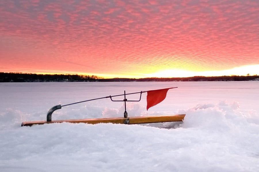 WIRE ICE FISHING BLEEDING TIP UP LEADERS 6 For Beaver Dam Frabill HT Polar