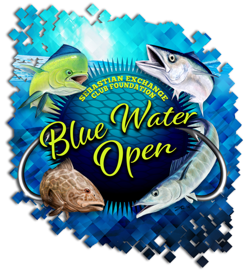 Blue Water Open Charity Off Shore Fishing Tournament by Exchange Club of Sebastian, FL