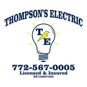 Thompsons Electric Sponsors Blue Water Open Fishing Tournament with Sebastian Exchange Club