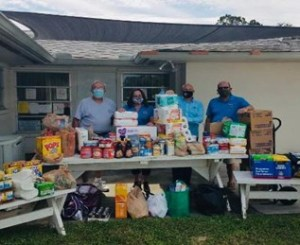 Sebastian Exchange Club, Community giving, Ecumenical Food Bank
