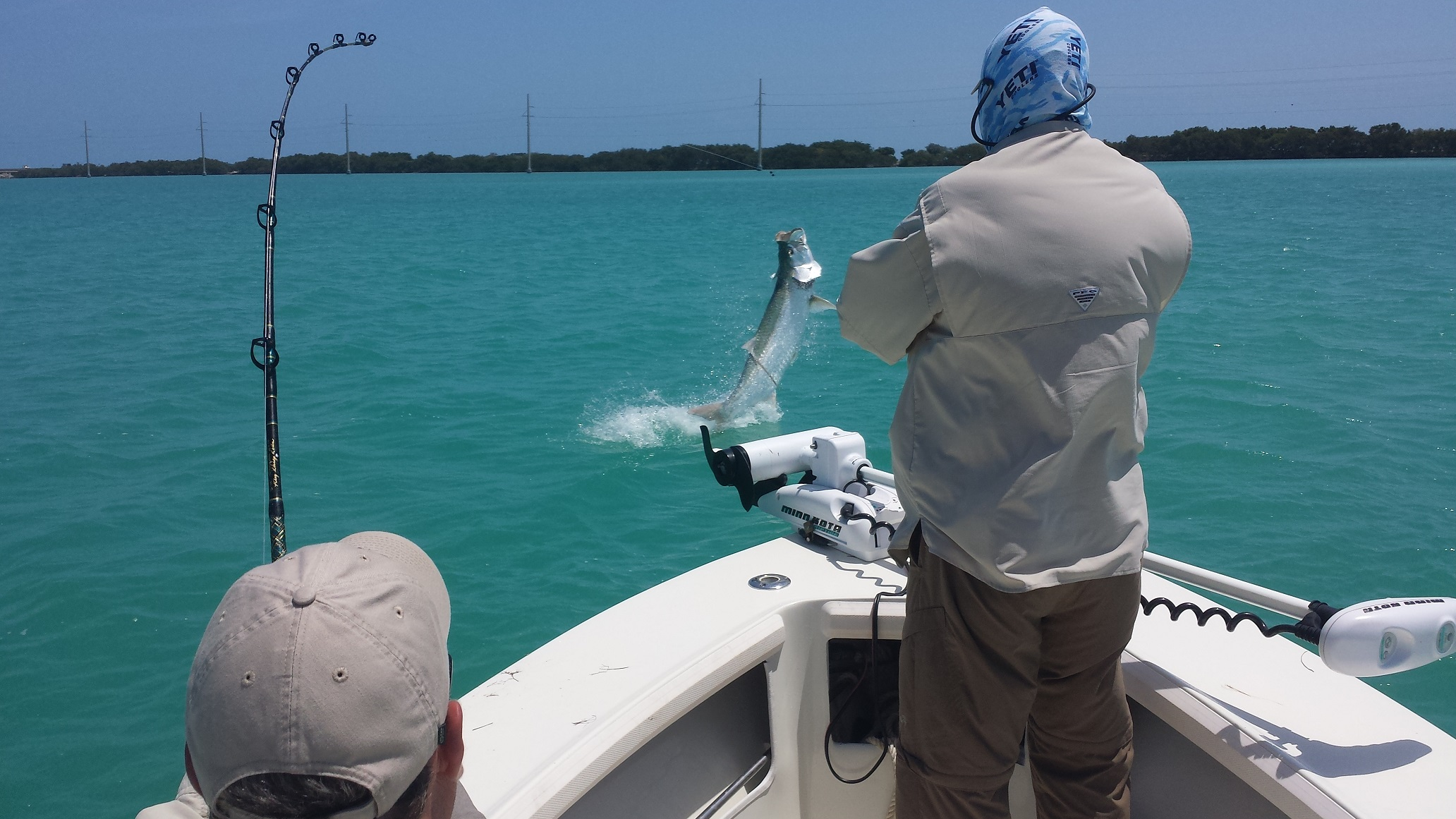 4 16 14 tarpon fishing in islamorada in april stays strong for Islamorada tarpon fishing