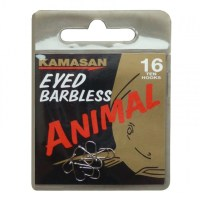 Ami KAMASAN ANIMAL Eyed (con occhiello) Barbless