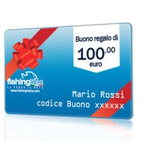 BUONO REGALO DEL VALORE DI 100,00 EURO  - FISHINGITALIA