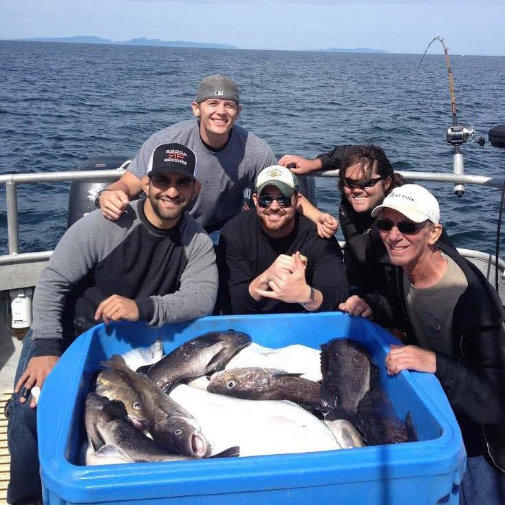 Bachelor Party on Kodiak Island Fishing Charters Fish N' Chips Charters