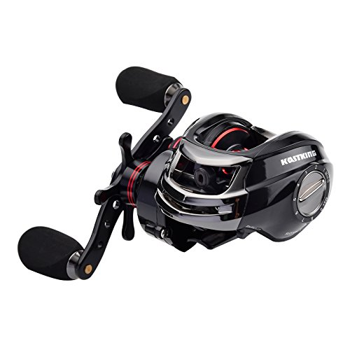 KastKing Royale Legend High Speed (7.0 :1) Low Profile Baitcasting Fishing Reel - 11+1 Shielded Ball Bearings - Carbon Fiber Drag System Provides 17.5 LBs of Stopping Power - Best Baitcaster Reel with Oversized Handle