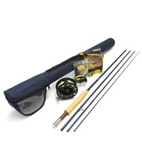 """Redington Crosswater 590-4 Fly Rod Outfit (9'0"""", 5wt, 4pc)"""