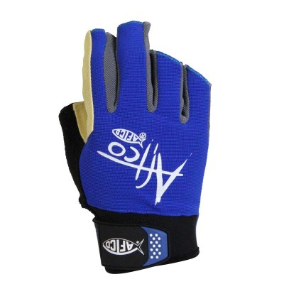 AFTCO Short Pump Gloves Long Range Front