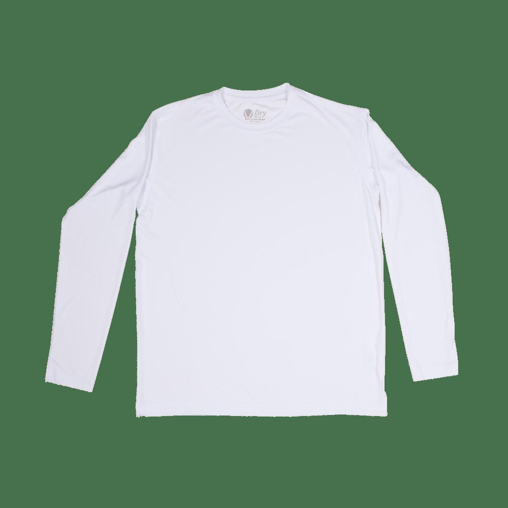 2abc96ee88b2 Men's P.I. DRY Fit Long Sleeve Shirts (White) - FISHING TOURNAMENT ...