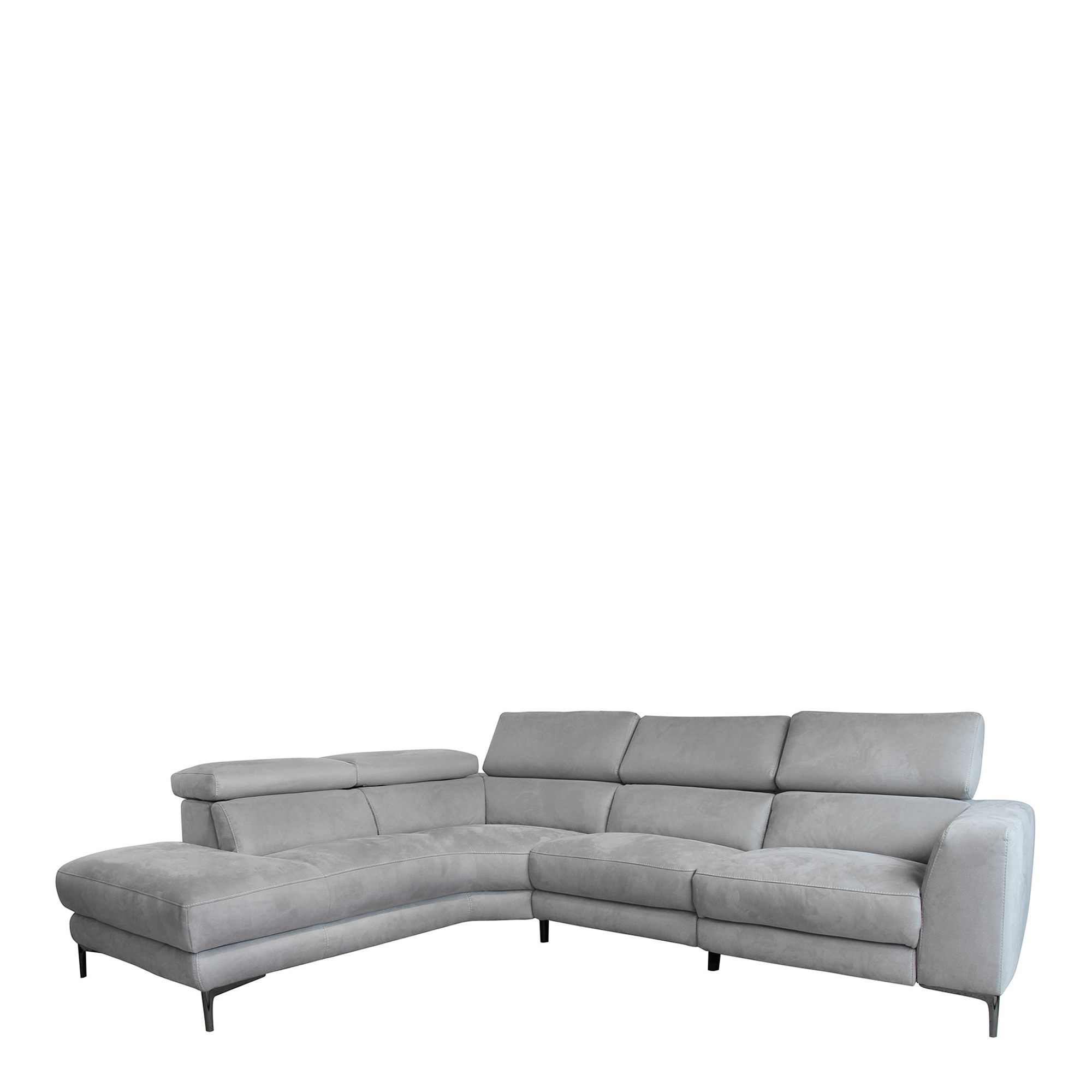 bella 2 5 seat rhf power recliner corner group
