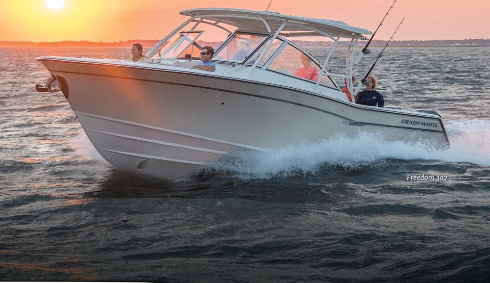 Grady white summer sale yamaha promotion fish tale boats for Fish tale boats