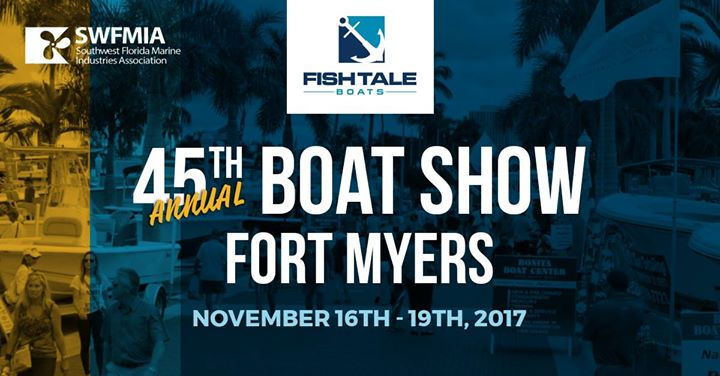 fort myers boat show flyer