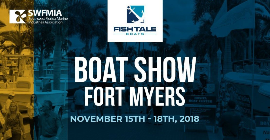 Fish Tale Boats At The Fort Myers Boat Show Fish Tale Boats - Naples car show 2018