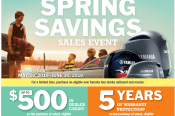 Spring savings coupon