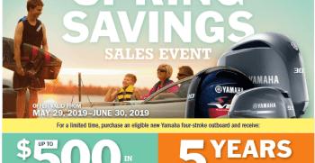 Spring savings coupon