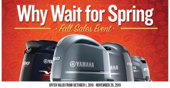 Why Wait For Spring – Fall Sales Event