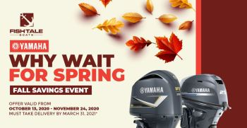 """""""Why Wait For Spring"""" Fall Savings Event"""