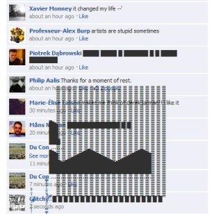 4.58 Glitchr na Facebooku.